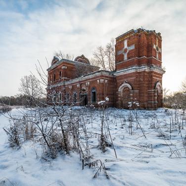Студенец, Тульская область. Церковь Георгия Победоносца, 1871-1894  Studenets, Tula region. St George church, 1871-1894