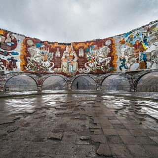 Арка Дружбы грузинского и русского народов The Arch of Friendship commemorating friendship of Georgian and Russian people