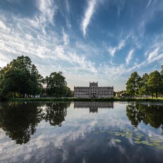 Дворец Людвигслюст, резидеция герцогов Мекленбург-Шверин, 1772-1776 Ludwigslust palace, the residence of Dukes of Mecklenburg-Schwerin
