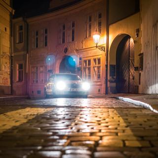 Ночное такси A night taxi ride