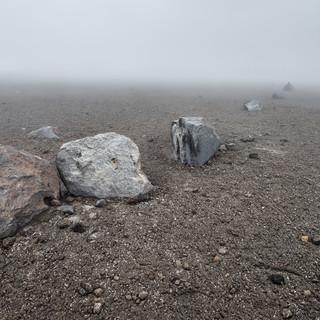 Сады камней вулкана Невадо-дель-Руис Stone gardens of Nevado del Ruiz volcano