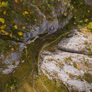 Ущелье Че-Чкыш Waterfall in Che Chkysh gorge
