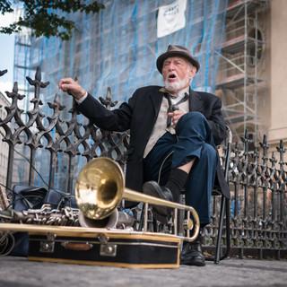 Джазовый дед Old man jazzing