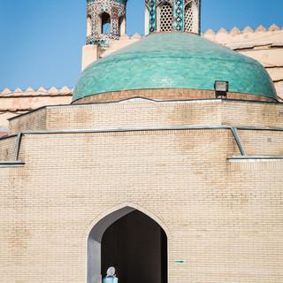 Ворота дворца кокандских ханов The gatehouse of Kokand Khan's Palace