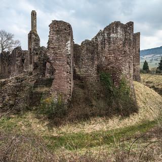 Руины замка Гросмонт Grosmont Castle ruins
