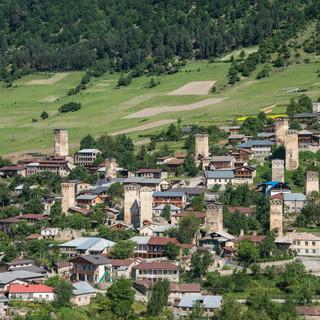 Башни Местии Mestia's towers