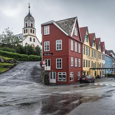 Центр Торсхавна The centre of Tórshavn