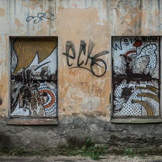 Очень депрессивный район в Калуге In a very depressive neighbourhood in Kaluga