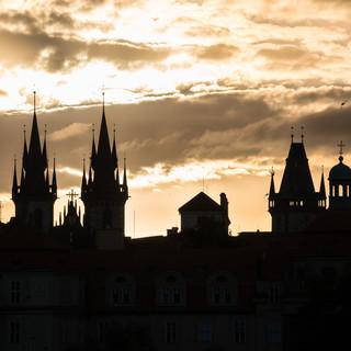 Пражские силуэты Prague's silhouettes