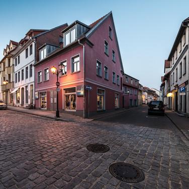Ночь опускается на Варен (Мюриц) The night closes in in the town of Waren (Müritz)