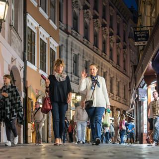 Вечером в Старом городе A night in the Old Town