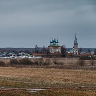 Дунилово, Ивановская область. Благоещенский собор, 1675  Dunilovo, Ivanovo region. Annunciation Cathedral, 1675