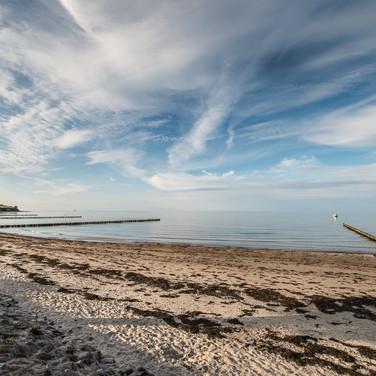 Курорт Болтенхаген на Балтийском море Baltic sea resort of Boltenhagen
