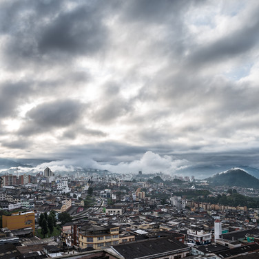 Раннее утро в Манисалесе Early morning in Manizales