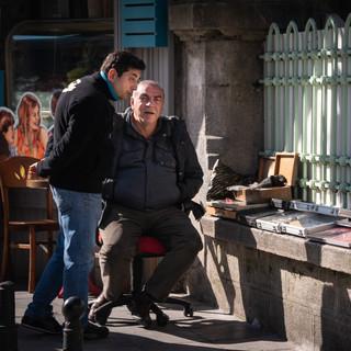 Уличные торговцы марками и монетами, Кадыкёй  Street sellers of stamps and coins, Kadiköy neighbourhood