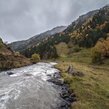 Река Аргун, Хевсуретия Argun river in Khevsureti region
