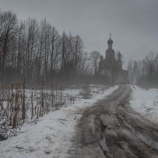 Писчугово, Ивановская область. Преображенская церковь, 1702  Pishchugovo, Ivanovo region. Transfiguration church, 1702