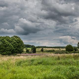 Пейзаж у Шимоново A landscape near Shimonovo village