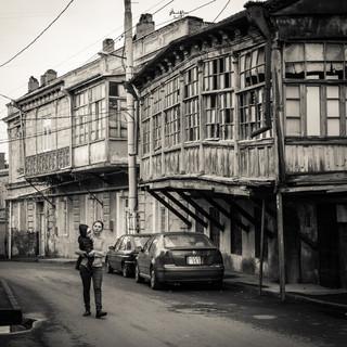 Старые дома в районе Авлабари Old houses in Avlabari neighbourhood