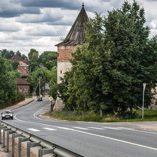 Зарайск The town of Zaraysk