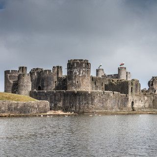 Замок Каерфилли Caerphilly Castle