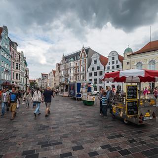 В самом центре ганзейского Ростока In the heart of the Hanseatic town of Rostock