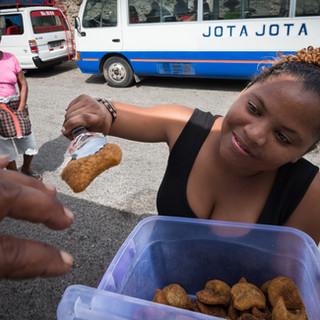 Пирожки в дорогу, Минделу, остров Сан-Висенти  Pasties to go, Mindelo, São Vicente island