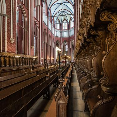 В соборе Доберанер Мюнстер, Бад-Доберан Inside Doberaner Münster cathedral, Bad Doberan