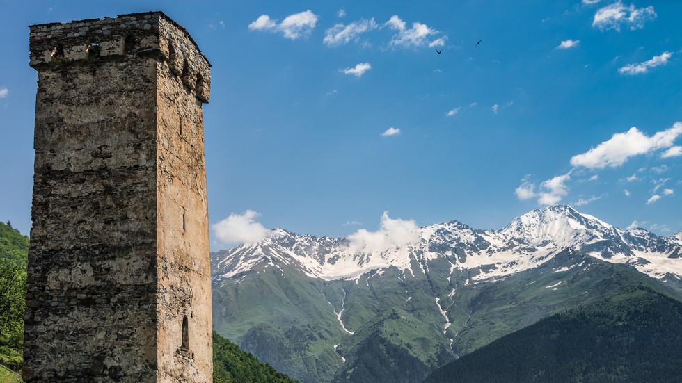Сванетия: башни, горы, люди