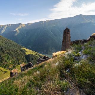 Развалины Квавло  Ruins of Kvavlo village