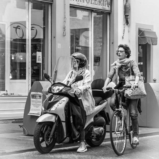 Флоренция на колесах Florence on wheels