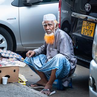 Продавец барахла, Коломбо  Junk seller, Colombo