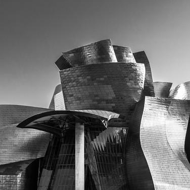 Музей современного искусства Гуггенхайма, Бильбао, Испания  Guggenheim museum Bilbao, Spain