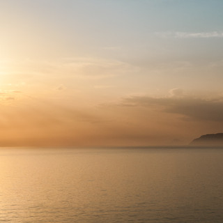 Закат над Тирренским морем A sunset over Thyrrenian Sea