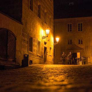 Ночная стража в Пражском Граде Night guards in Prague Castle
