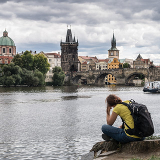 Пражская русалочка)) A little mermaid of Prague ))