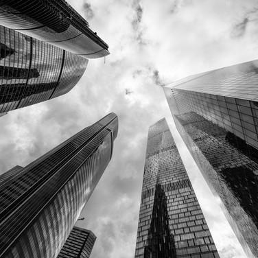 Диагональные вертикали, Москва-Сити Diagonal verticals, Moscow City