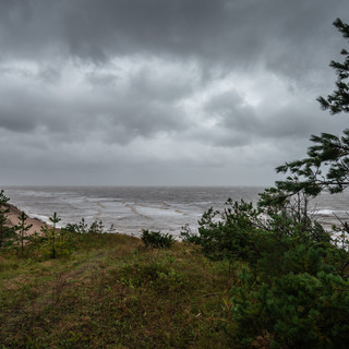 Шторм на Белом море  Gale weather at White Sea's coast