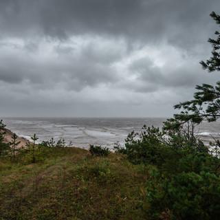 Шторм на Белом море  Gale weather at White Sea's coast