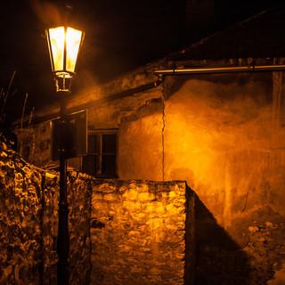 Уличный фонарь, улица Новый Свет, Градчаны A street lamp in Nový Svět street in Hradčany district