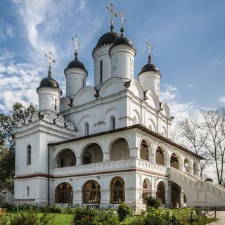 Церковь в Вяземах, конец XVI века The church in Vyazemy, end of 16 century