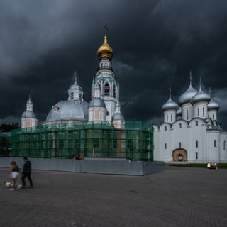 Вот-вот разразится гроза, Вологда  The thunderstorm is about to strike, Vologda