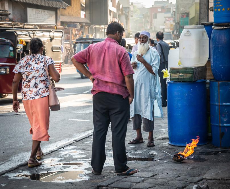 Район Петтах, Коломбо  Pettah neighbourhood, Colombo