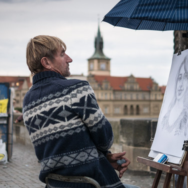 Портрет. Карлов мост A portrait. Charles Bridge