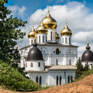 Вознесенский собор Дмитровского кремля Cathedral of the Assumption in Dmitrov Kremlin