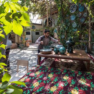 Керамическая мастерская, Риштан, Ферганская долина Ceramisc workshop, Rishton, Fergana Valley