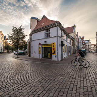 Вечером в старом городе, Висмар An evening in the Old Town, Wismar