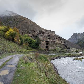Шатили и Аргунское ущелье Shatili village and Argun valley
