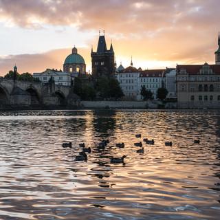 Пражский рассвет Prague's sunrise
