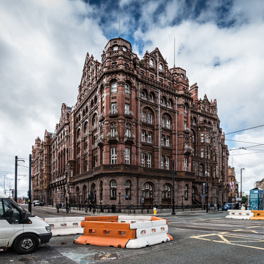 "Викторианский Манчестер: отель ""Мидланд"" на Сент-Питерс-Сквер Victorian Manchester: Midland hotel in St Peter's Square"